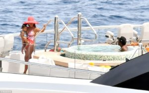 PHOTOS: Beyoncé and Jay-Z hire $180million luxury yacht for family trip