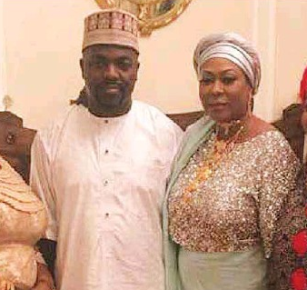 Widow of late African billionaire marries her younger lover in lavish wedding ceremony