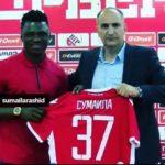 Serbian giants Red Star Belgrade unveil Ghana defender Rashid Sumaila