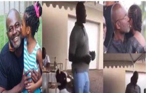 VIDEO: Ken Agyapong & Little daughter 'boogie dance' to Lilwin's Mama Boss Papa'