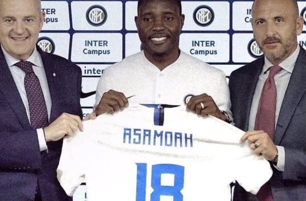 Kwadwo Asamoah becomes the 4th Ghanaian to play for Inter Milan