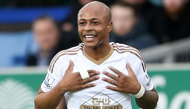 Newcastle United in race to sign Swansea City's want-away star Andre Ayew