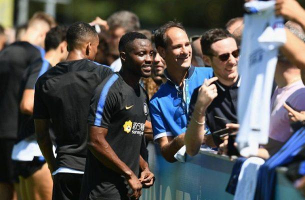 Kwadwo Asamoah fast becoming a fan favorite at Inter Milan