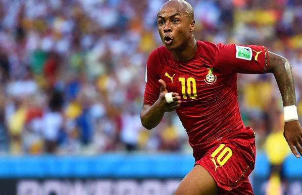 Ayew salutes former Marseille teammates in France squad