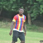 Ghana ace Sulley Muntari plays for Hearts of Oak in friendly win over Bechem United
