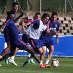 Thomas Partey shines in Atletico Madrid training match