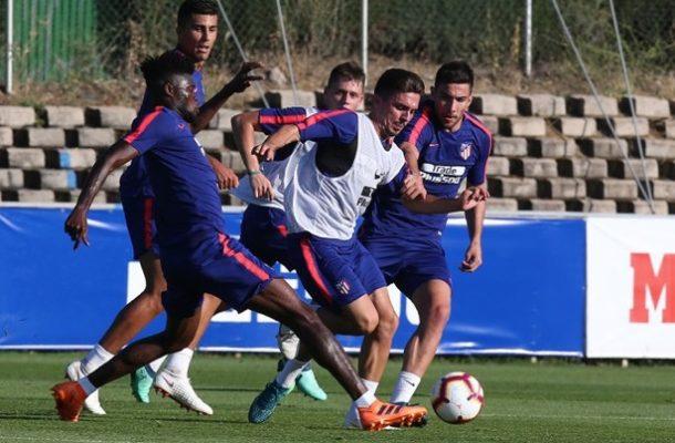 Thomas Partey shines in Atletico Madrid training match