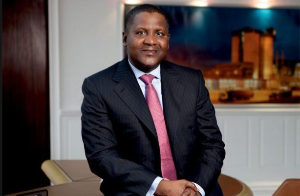 Aliko Dangote retains position as only African billionaire among world's 100 richest people for 2019