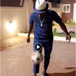 VIDEO: Shatta Wale displays wild football skills