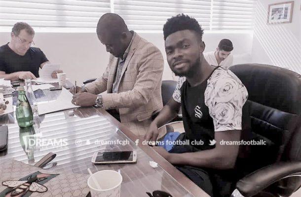 OFFICIAL: Dreams FC playmaker Leonard Owusu joins FC Ashdod