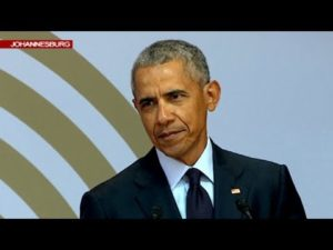 VIDEO: Obama delivers powerful speech at the Nelson Mandela Annual Lecture