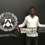 Ghana defender Nicholas Opoku raring to go after Udinese switch