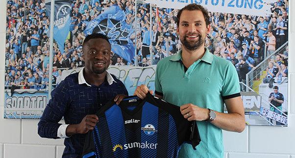 DONE DEAL: Bernard Tekpetey signs for German lower-tier side SC Paderbon