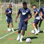 Kassim Nuhu completes first training session with Hoffenheim