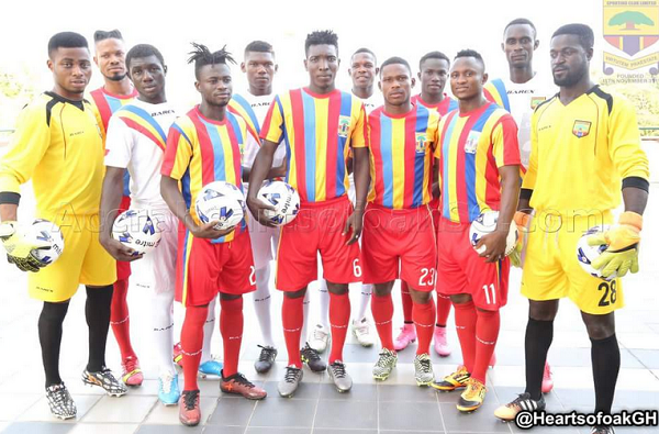 Hearts of Oak to announce kit sponsorship deal, unveil new club crest
