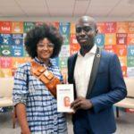 "Ghanaian Advocate & Social Entrepreneur, Emmanuel Nyame launches new Book ""Rise Above"" at UN HQ"