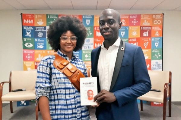 "Ghanaian Advocate & Social Entrepreneur, Emmanuel Nyame launches new Book ""Rise Above"" at UN HQ"