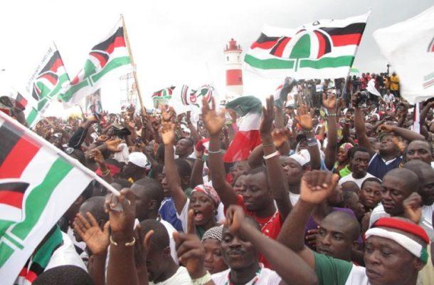 NDC protest Charlotte Osei's removal at NPP congress