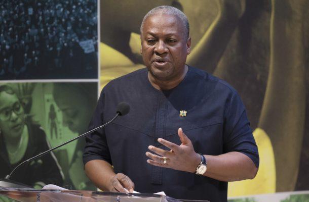 Increase presidential tenure of office to 5 years - Mahama