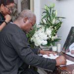 Perfect gentleman Amissah-Arthur served Ghana with distinction - Mahama eulogizes Former Veep