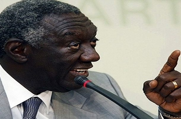 Kufuor calls for action in fight against corruption