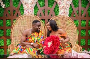 Official Photos from Sarkodie and Tracy's wedding released
