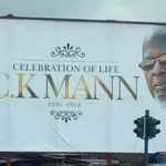 C.K. Mann laid to rest