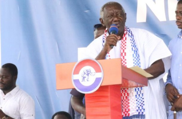Power can trick you – Kufuor cautions NPP