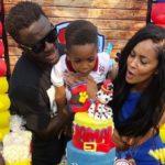 PHOTOS: Sulley Muntari and wife, Menaye Donkor throw lavish 3rd birthday for son