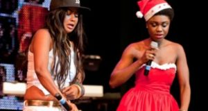 VIDEO: Nana Ama Mcbrown and Becca 'kill' Kofi Kinaata's 'confession' at joint birthday party