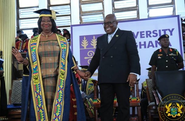 Akufo-Addo's speech at Chinery-Hesse's investiture as UG Chancellor