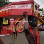 Conti, Katanga on half-naked demo
