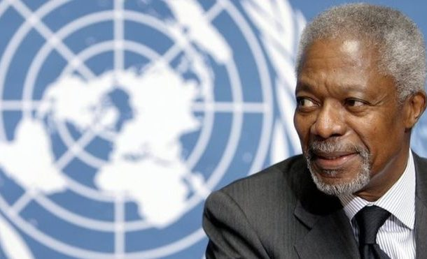 Kofi Annan passed away peacefully- Kofi Annan Foundation