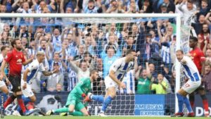 Brighton stun lacklustre Manchester United