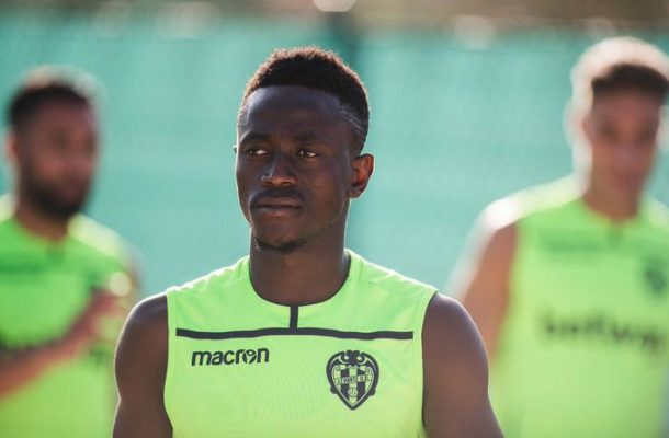 Ghana striker Emmanuel Boateng set for early return from injury
