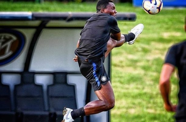 Deputy Black Stars skipper Kwadwo Asamoah scores superb goal in Inter Milan training ahead Empoli clash