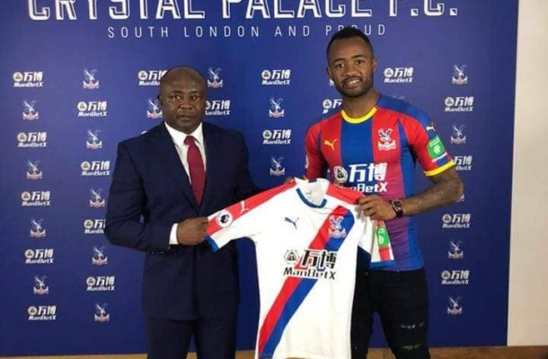 OFFICIAL: Jordan Ayew completes deadline day move to Crystal Palace