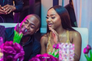 PHOTOS: Davido & his girlfiend Chioma pose on the airstairs of his new private jet