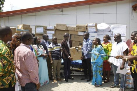 First Lady donates  hospital equipment to Northern and Upper Regions