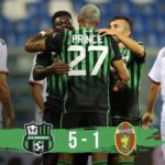 Ghana duo Boateng and Duncan on target as Sassuolo thrash Ternana in Coppa Italia