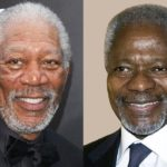 Interesting: Kofi Annan's reaction to being mistaken for Morgan Freeman