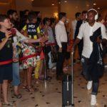 Andre Ayew's Fenerbaçe arrive in Izmir ahead of Göztepe clash