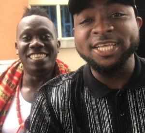 Social media explodes as Duncan Mighty, 34, attempts to prostrate for Davido in new video