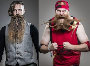PHOTOS: UK hold British Beard & Moustache Championships with unique entrance