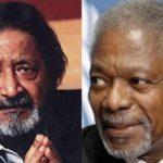 V.S. Naipaul and Kofi Annan: Death of opposites