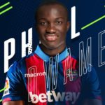 OFFICIAL: Raphael Dwamena joins Spanish side Levante on four-year deal