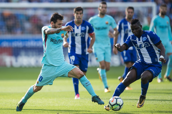 Wakaso to start for Alaves against Lionel Messi-led Barcelona in La Liga tonight
