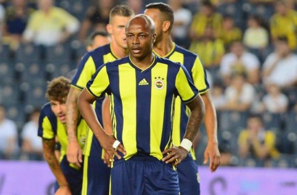 Fenerbaçe coach reveals why Andre Ayew was left out of Champions League defeat to Benfica