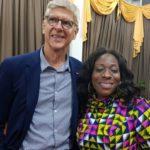 Tourism Minister meets former Arsenal manager Arsene Wenger