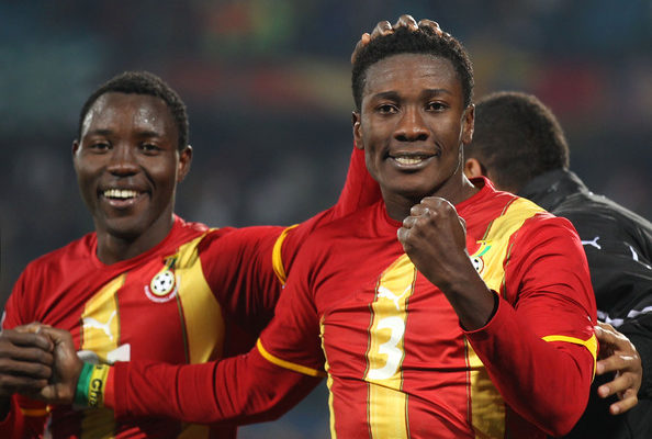 Kwadwo Asamoah set to replace Gyan as new Ghana captain